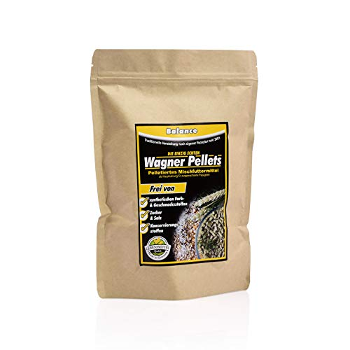 Wagner's Balance Pellets für Papageien - 750 g Hauptnahrung - Medium