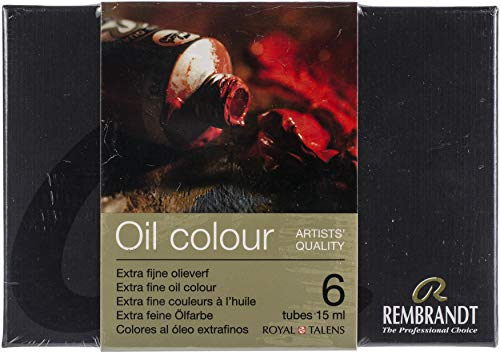Rembrandt Oil Colour Starter Set 6x15ml