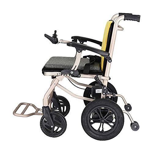 CSFM Elektrischer Rollstuhl Power Roller Intelligenter Joystick Elektronische Bremse Lange Akkulaufzeit Bequemer Sicherheitsgurt,Single Control