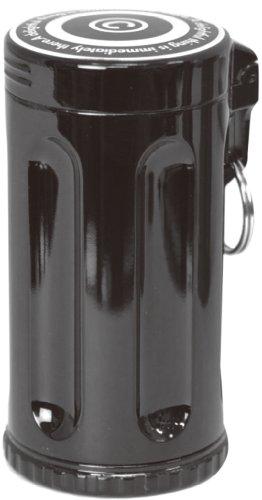 Dreams(ドリームズ) 携帯灰皿 シガーネスト ハニカム 7本収納 ブラック 直径3.5×高さ7.0cm MDL45121