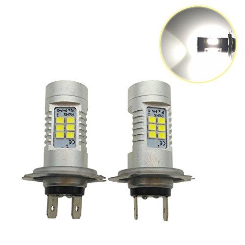 Heinmo NEUF 2 pcs de voiture feux de jour Auto DRL Conduite lampe 12 V 24 V 6000 K H7 H1 Phare LED 9005 HB3 brouillard ampoules HB4 9006