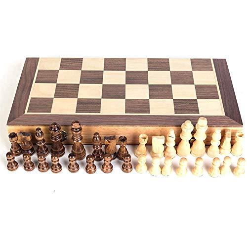 Ajedrez para tablero harry potter juegos Juego de ajedrez, Junta de Ajedrez Magnetic Travel Chess Checkers Juego para niños Tablero de ajedrez Plegable 30x30 cm / 40 x 40 cm, hecho de madera, para niñ