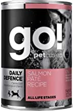 Petcurean Go Daily Defence Dog Food Salmon Pate (12X13.2oz)