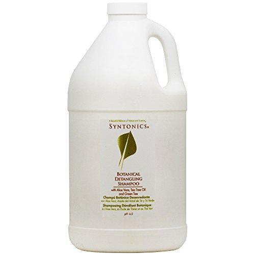 Syntonics Botanical Detangling Shampoo with Aloe Vera, Tea Tree Oil and Green Tea 64oz