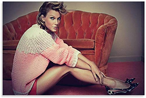 Lienzo De Impresión 40x60cm Sin Marco Productor Musical Taylor Swift póster Decorativo para Sala de Estar pósteres Pintura para Dormitorio