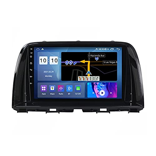 ADMLZQQ Autoradio Bluetooth para Mazda CX-5 2012-2017 2 DIN Android Radio De Coche 9'' Pantalla Táctil 4G WiFi Plug and Play Soporte Carautoplay/GPS/FM/SWC/Bluetooth + Caméra Arrière,M600s8core6+128