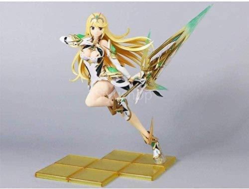 LJXGZY Knmbmg Xenoblade Chronicles 2: PVC Pyra Figur - Mythra PVC Figurensammlung Dekoration Modell Geburtstagsgeschenk Statue 21CM