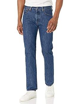 Levi s Men s 501 Original Fit Jeans Dark Stonewash 34W x 32L