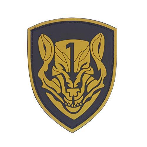 Cobra Tactical Solutions Medal of Honor MOHWolf Pack Marrón Parche PVC Táctico Moral Militar con Cinta adherente de Airsoft Paintball para Ropa de Mochila Táctica