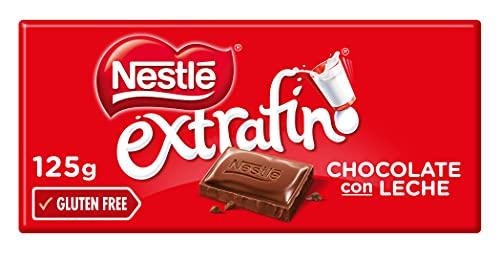 Nestlé Extrafino Chocolate Con Leche - Tableta de Chocolate - 28x125g