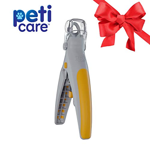 Allstar Innovations PetiCare The Illuminated Pet Nail Clipper- Great for Cats & Dogs