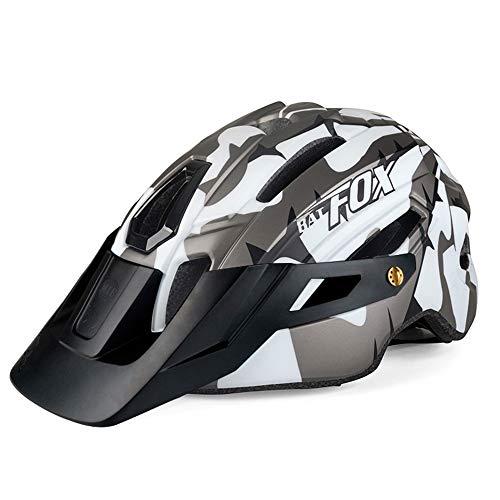 Casco de Bicicleta con luz LED, Certificado CE, Ajustable, especializado, de montaña...