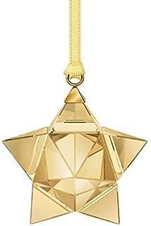 SWAROVSKI Star Ornament, Gold Tone, Small