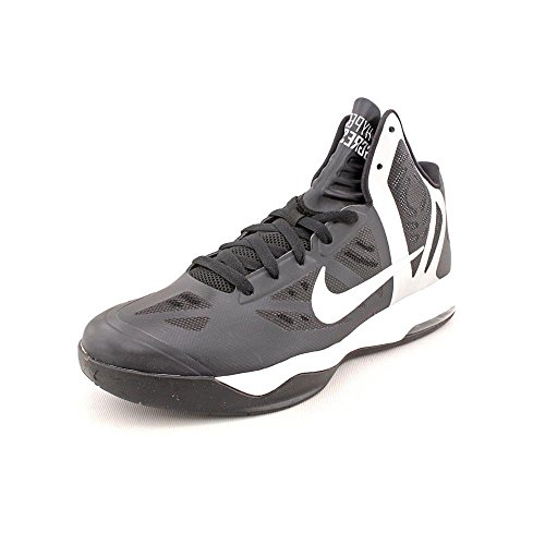 Nike Womens Air Max Hyperagressor TB (Black/White) Basketball Shoes Size 6