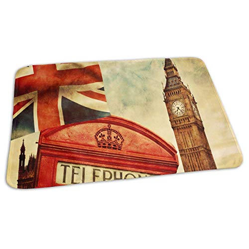 Voxpkrs Changing Pad Vintage Famous London Big Ben Union Jack Baby Diaper Urine Pad Mat Fantastic Kids Bed Wetting Pads Sheet for Any Places for Home Travel Bed Play Stroller Crib Car