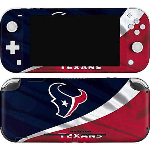 Skinit Decal Gaming Skin Compatible with Nintendo Switch Lite - Officially Licensed NFL Houston Texans Design