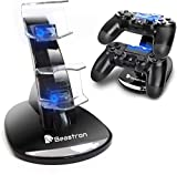 Beastron PS4 Controller Charging Station, PS4 Controller Charger for Sony PlayStation 4 PS4/PS4 Pro/PS4 Slim Controllers