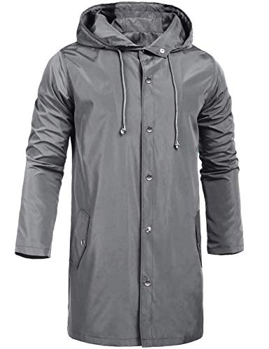 Top 10 Best Light Grey Trench Coat Mens Comparison