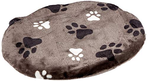 Karlie Track Pet - Cuscino Ovale Grigio