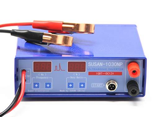Hanchen Inversor Ultrasónico 12V Máquina de Pesca 1030NP Electro Fisher para Novatos/Pescadores