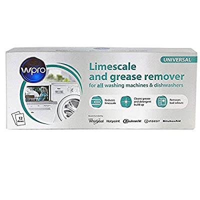 Limescale & Detergent Descaler 12 months supply for washing machine and dishwasher