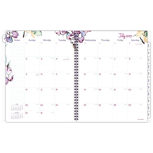 "AT-A-GLANCE Academic Weekly / Monthly Planner, July 2017 - June 2018, 8-1/2"" x 11"", June Design (1012-905A) Photo #2"