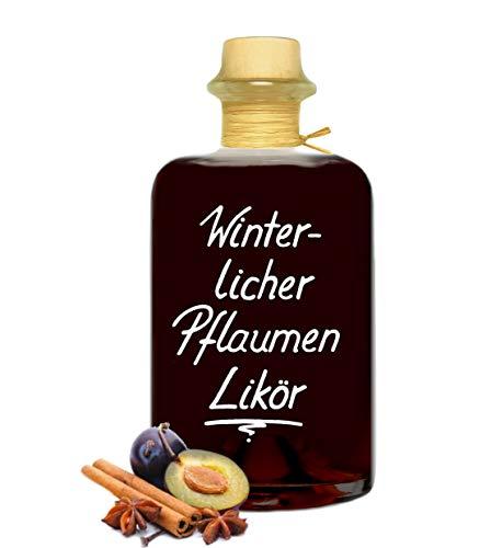Winterlicher Pflaumen Likör 0,5L aromatisch saftig & lecker 20% Vol.