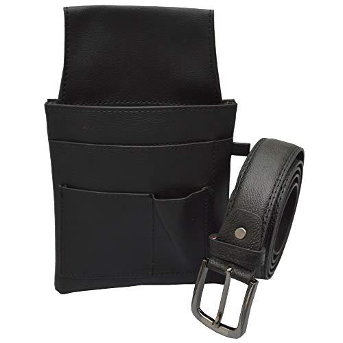 flevado Kellner Gürtel mit Colt, Halfter, Holster für den Gastrobereich Gürtellänge ist zu wählen! (105 cm, Kunstleder)