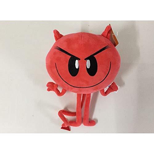 HHtoy Expresión 20cm Demonio Peluches El Emoji Felpa de la película de Dibujos Animados muñeca Almohada Relleno Figuras niños cumpleaños de la Navidad de la marioneta Regalo