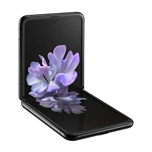 """Teléfono Samsung Galaxy Z Flip (F700f), Color Negro (Black). 256 GB de Memoria Interna, 8 GB de RAM, Pantalla de 6,7"""", Dual SIM, Cámara Dual de 12 + 12 MP. - Nuevo Smartphone Completamente Libre."""