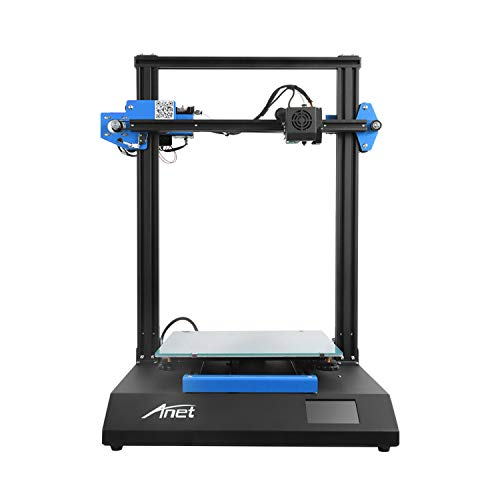 Aibecy 3D Printer Kit Anet ET5X FDM Full Metal Frame 3.5 Inch Color Touch Screen Support with 8GB TF Card 1kg PLA Filament Works with PLA/ABS/HIPS