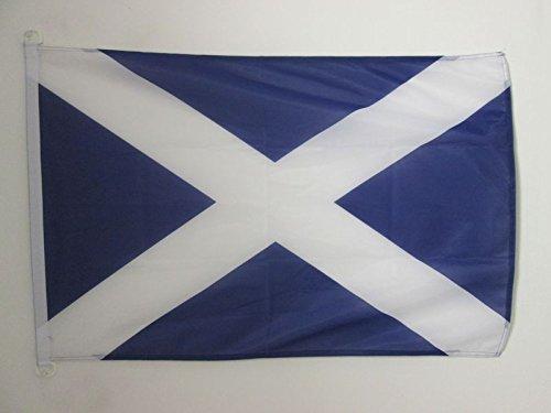 AZ FLAG Flagge SCHOTTLAND 90x60cm - Schottische Fahne 60 x 90 cm Aussenverwendung - flaggen Top Qualität
