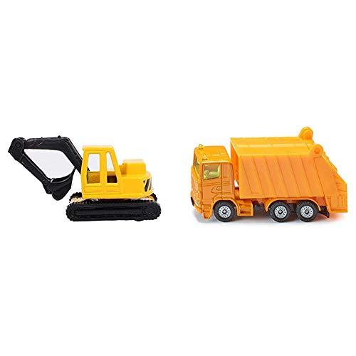 Siku 0801 - Bagger & 0811 - Müllwagen