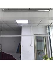 MAHFEI Outdoor Pergola rolgordijn, preventieve scheidingsrolgordijn, waterdicht, warm houden, PVC-folie, lifluiken, voor raam, balkon, transparante rolgordijnen