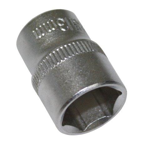 Aerzetix - Llave de vaso 1/4\'\' - Hexagonal 13mm - CrV - C2178