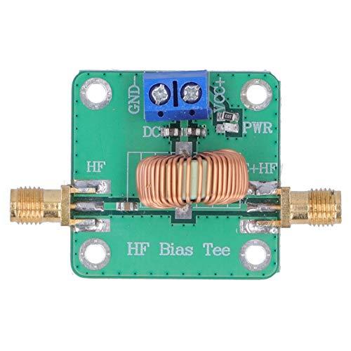 0.2-180MHz SMA-K Connettore DC Bias Tee Modulo RF Modulo 30V 3A RF DC Block Bias Tee RF Modulo Segnale Microonde per Amplificatore a banda larga