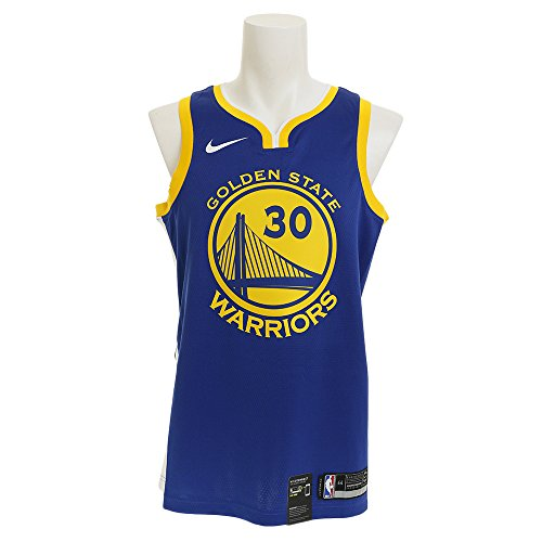 NIKE Stephen Curry Golden State Warriors Icon Edition Swingman Jersey - Blue (XL)