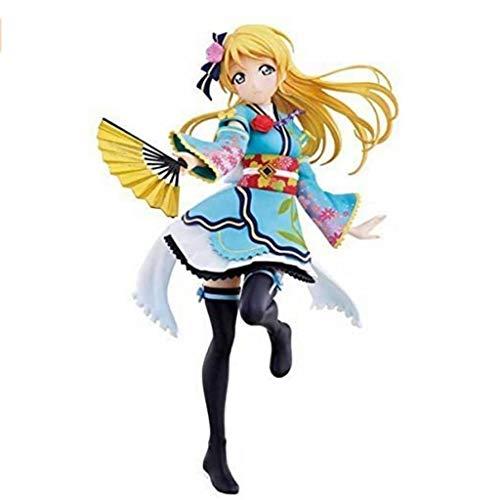 CJH Love Live: Ayase Eli (Kimono) Action-Figur Modell-Geschenk-Spielzeug Dekorationen Statue Puppe Ornamente