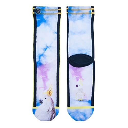 XPOOOS Damen Socken (Biba, 50% Polyamid 27% Polyester 21% Baumwolle 2% Elasthan)