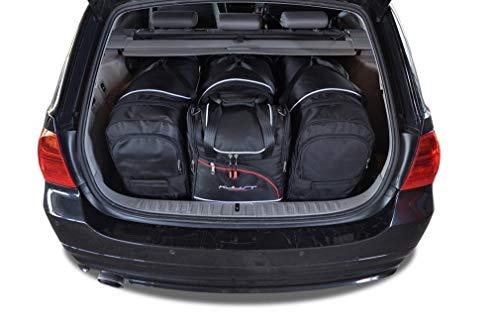 KJUST Dedizierte Reisetaschen 4 STK kompatibel mit BMW 3 Touring E91 2005 - 2013