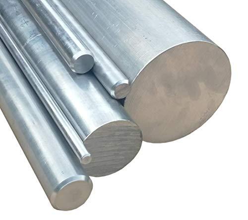 Aluminium Vollmaterial Länge 250mm (25cm) AlCuMgPb AW-2007 von Ø6mm - Ø200mm
