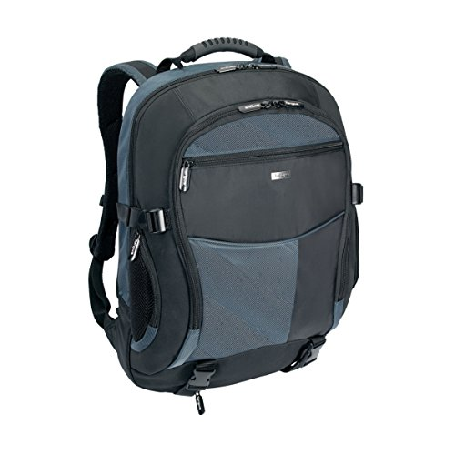 Targus Atmosphere XL TCB001EU - Zaino per notebook, taglia XL, colore: nero e blu