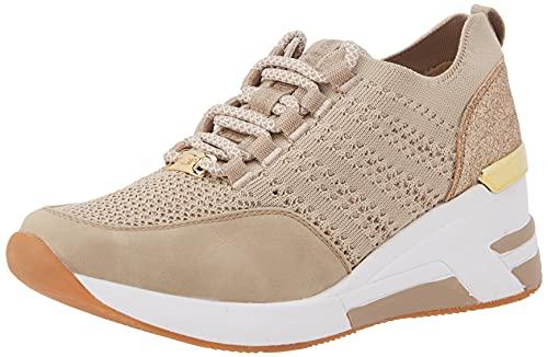 TOM TAILOR Damen 1191505 Sneaker, beige, 39 EU