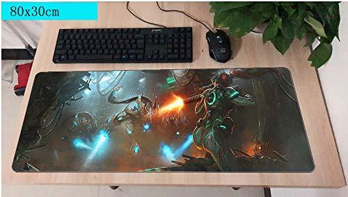 Hot Creative Mouse computador gamer mause pad 800x300X2MM padMouse grande Alien VS Predator Mousepad ergonómico gadget escritorio de oficina estera