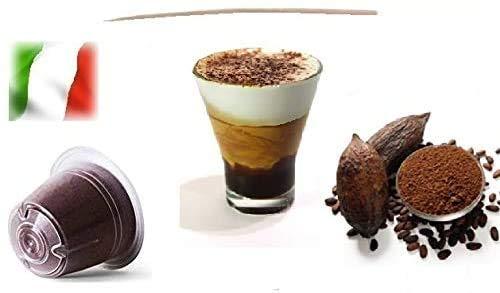 Capsule Compatibili Nespresso, Capsule Miscela Mocaccino - Mokaccino Linea Espresso (Kit Assaggio 20 Capsule)
