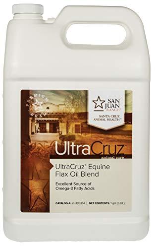 UltraCruz - sc-395351 Flax Oil Blend Supplement for Horses and Livestock, 1 Gallon
