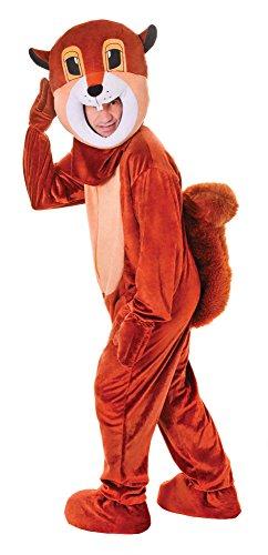 Bristol Novelty AC472 Eichhörnchen Kostüm mit großem Kopf, 44 Zoll, Mehrfarbig