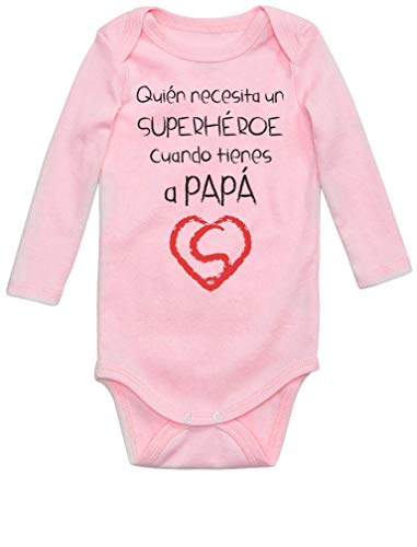 Body de Manga Larga para bebé - Papá...