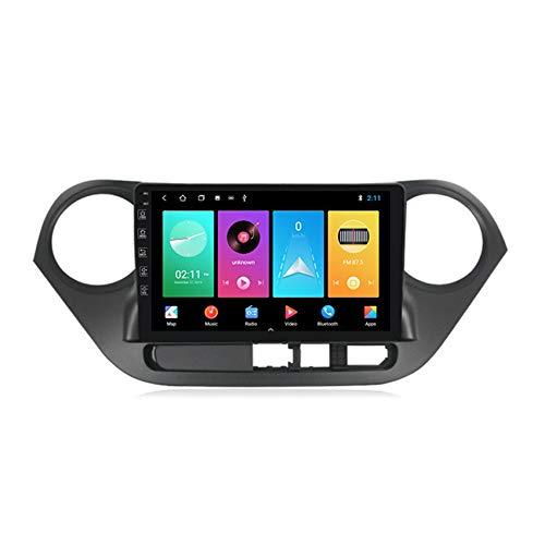 ADMLZQQ Android10 Stereo Auto Bluetooth per Hyundai I10 2014-2017 Autoradio 2 DIN HD Schermo Supporto GPS Comandi al Volante Vivavoce Bluetooth Incorporato carplay(M300/PX6),M100,1+16G