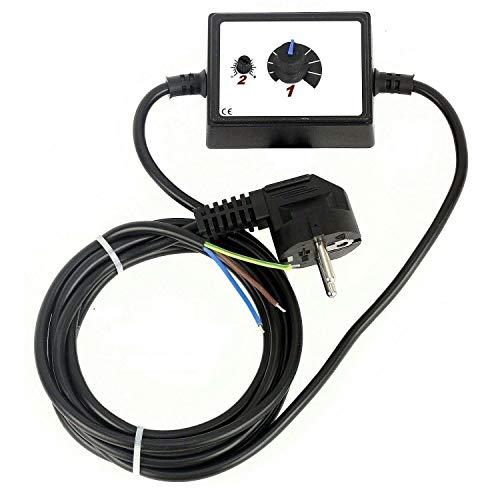Regulador industrial de velocidad, 500W, para motor de ventilador, 230V, controlador de voltaje, transformador, con interruptor